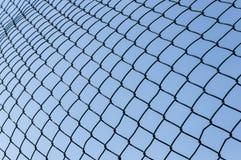 Δίκτυο αθλητικού στόχου ποδοσφαίρου Στοκ εικόνα με δικαίωμα ελεύθερης χρήσης