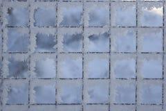Δίκτυο ανασκόπησης που καλύπτεται με το χιόνι Στοκ φωτογραφίες με δικαίωμα ελεύθερης χρήσης