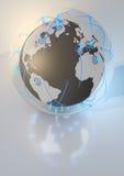 δίκτυο γυαλιού σφαιρών Στοκ Εικόνες
