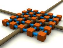 δίκτυο δικτύου διανυσματική απεικόνιση