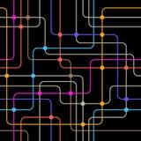 Δίκτυο επικοινωνίας. Στοκ φωτογραφία με δικαίωμα ελεύθερης χρήσης
