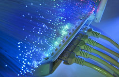 δίκτυο πλημνών καλωδίων Στοκ φωτογραφία με δικαίωμα ελεύθερης χρήσης