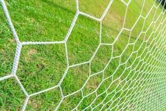 Δίκτυο στόχου ποδοσφαίρου Στοκ Εικόνα