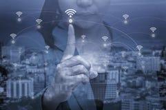 Δίκτυο σύνδεσης δικτύων wifi της Ταϊλάνδης Στοκ εικόνες με δικαίωμα ελεύθερης χρήσης