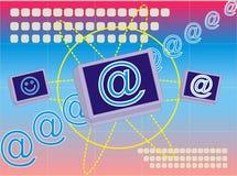 Δίκτυο υπολογιστών στοκ εικόνα