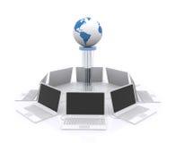 Δίκτυο υπολογιστών. Στοκ φωτογραφία με δικαίωμα ελεύθερης χρήσης