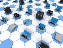 δίκτυο υπολογιστών Στοκ Εικόνες
