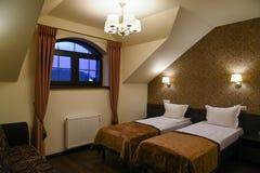 Δίκλινο δωμάτιο ξενοδοχείων Στοκ Εικόνες