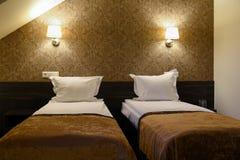 Δίκλινο δωμάτιο Στοκ εικόνα με δικαίωμα ελεύθερης χρήσης
