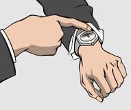 δίνει wristwatch απεικόνιση αποθεμάτων