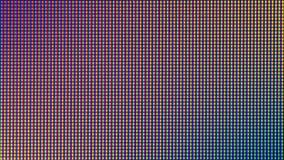Δίοδος βολβών φω'των των οδηγήσεων κινηματογραφήσεων σε πρώτο πλάνο από την οθόνη οργάνων ελέγχου TV των οδηγήσεων ή των οδηγήσεω Στοκ Φωτογραφία