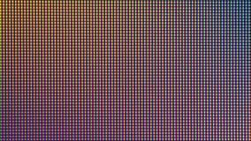 Δίοδος βολβών φω'των των οδηγήσεων κινηματογραφήσεων σε πρώτο πλάνο από την οθόνη οργάνων ελέγχου TV των οδηγήσεων ή των οδηγήσεω Στοκ Φωτογραφίες