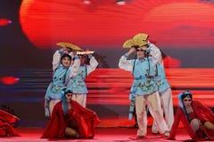 Δίπλωμα του χορού οπερών facebook-Πεκίνο χορός-εισηγητή ανεμιστήρων Στοκ Εικόνες