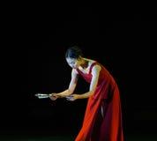 Δίπλωμα του ανεμιστήρας-σύγχρονου χορού Στοκ εικόνα με δικαίωμα ελεύθερης χρήσης