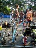 Δίπλωμα του ποδηλάτου Στοκ εικόνες με δικαίωμα ελεύθερης χρήσης