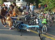 Δίπλωμα του ποδηλάτου Στοκ φωτογραφία με δικαίωμα ελεύθερης χρήσης