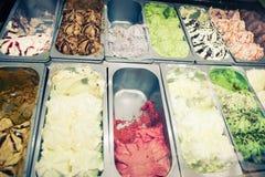 Δίσκοι παγωτού Στοκ εικόνα με δικαίωμα ελεύθερης χρήσης