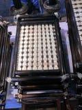Δίσκοι τσαγιού που γίνονται από το μπαμπού Στοκ εικόνα με δικαίωμα ελεύθερης χρήσης