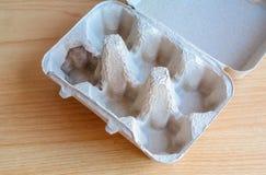 Δίσκος εγγράφου αυγών Στοκ φωτογραφίες με δικαίωμα ελεύθερης χρήσης