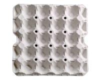 Δίσκος εγγράφου για το αυγό Στοκ φωτογραφία με δικαίωμα ελεύθερης χρήσης