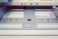 Δίσκος εγγράφου στον εκτυπωτή Στοκ Φωτογραφίες