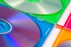 δίσκος κιβωτίων dvd που απ&omicron Στοκ Φωτογραφία