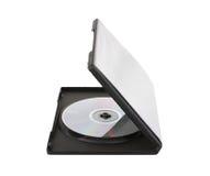 δίσκος κιβωτίων dvd Στοκ Φωτογραφία