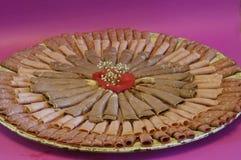 δίσκος κρέατος Στοκ εικόνα με δικαίωμα ελεύθερης χρήσης