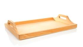 δίσκος ξύλινος Στοκ εικόνες με δικαίωμα ελεύθερης χρήσης