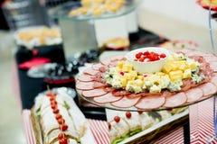 Δίσκος πρόχειρων φαγητών Στοκ φωτογραφία με δικαίωμα ελεύθερης χρήσης