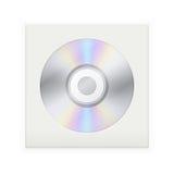 Δίσκος του CD σε έναν φάκελο απεικόνιση αποθεμάτων