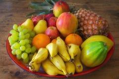 Δίσκος των φρούτων Στοκ Εικόνες
