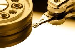 δίσκος υπολογιστών σκ&lambd Στοκ Φωτογραφία