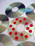 δίσκος 3 μολυσμένος Στοκ φωτογραφία με δικαίωμα ελεύθερης χρήσης