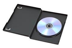 δίσκος Cd κιβωτίων dvd που αν&omic Στοκ Εικόνες