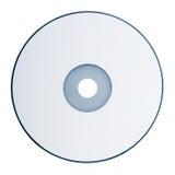 Δίσκος Dvd που απομονώνεται στο άσπρο υπόβαθρο Στοκ εικόνα με δικαίωμα ελεύθερης χρήσης