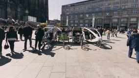 Δίτροχος χειράμαξα ποδηλάτων Στοκ Εικόνα