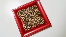 Δίχρωμα μπισκότα Στοκ Εικόνα