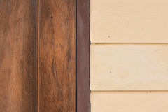 Δίχρωμος ξύλινος Στοκ εικόνες με δικαίωμα ελεύθερης χρήσης