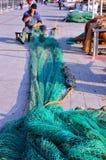 Δίχτια του ψαρέματος στη Γένοβα Στοκ εικόνα με δικαίωμα ελεύθερης χρήσης