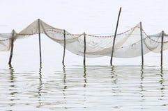 δίχτια του ψαρέματος Στοκ εικόνες με δικαίωμα ελεύθερης χρήσης