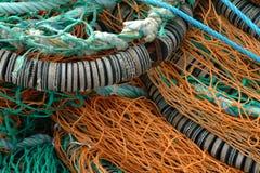δίχτια του ψαρέματος στοκ εικόνες