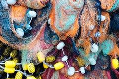 δίχτια του ψαρέματος Στοκ εικόνα με δικαίωμα ελεύθερης χρήσης