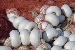 δίχτια του ψαρέματος Στοκ Φωτογραφία