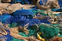 Δίχτια του ψαρέματος Calpe   Στοκ Εικόνες