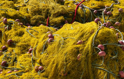 δίχτια ψαρέματος Στοκ Φωτογραφία