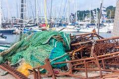 Δίχτυα του ψαρέματος Στοκ Εικόνα