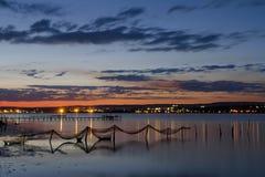 Δίχτυα του ψαρέματος Στοκ Φωτογραφία