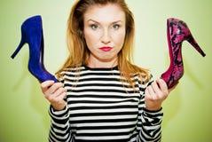 Δίλημμα παπουτσιών Στοκ εικόνα με δικαίωμα ελεύθερης χρήσης