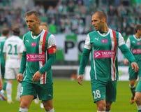 Δίδυμα ποδοσφαίρου, Flavio και Marco Paxaio Στοκ εικόνα με δικαίωμα ελεύθερης χρήσης